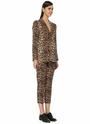 The Kooples Pantolon Leopar